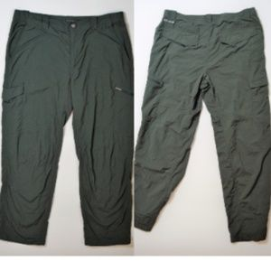 Columbia Sportswear Mens Pants Omni Shade Green